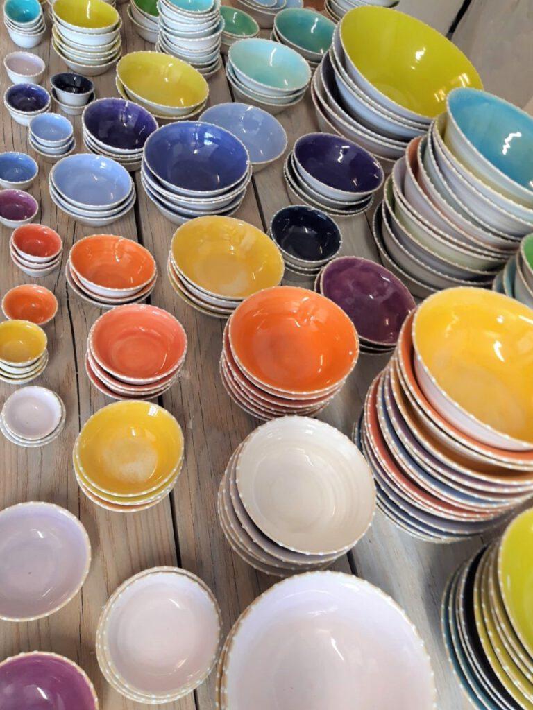 keramik holzer BILD-NEUBEURER-KERAMIK-Teller-Schuesseln-Handwerk